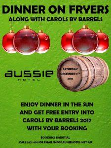 DINNER ON FRYERS Poster